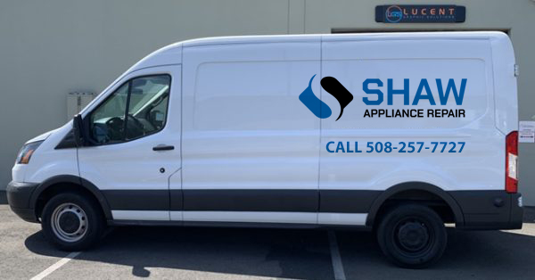 shaw appliance repair van in brockton